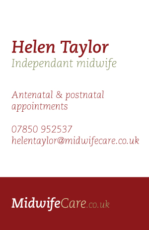 Midwife-care card option 4